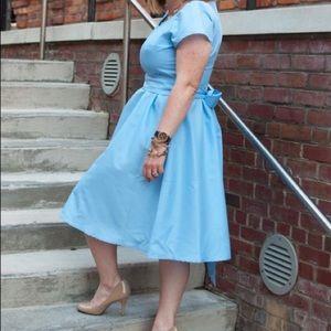 Adorable Shabby Apple Blue Dress